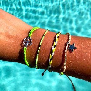 🌼🌿Handmade Adjustable Bracelet Set🌿🌼